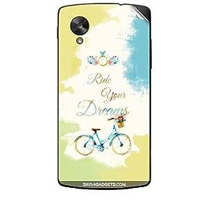 Skin4Gadgets Ride Your Dreams Phone Skin STICKER for LG NEXUS 5
