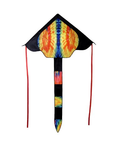 In the Breeze Tie Dye Fly Hi Delta Kite, 46-Inch