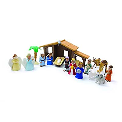 The Nativity Play Set by publisher:Ellie Claire Gift and Paper Corp