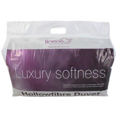 linens limited 4 jahreszeiten bettdecke hohlfaser baumwolle polyester 13 5 tog king gro. Black Bedroom Furniture Sets. Home Design Ideas