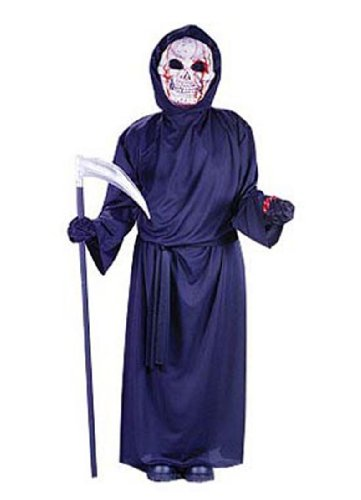 Child Bleeding Grim Reaper Costume