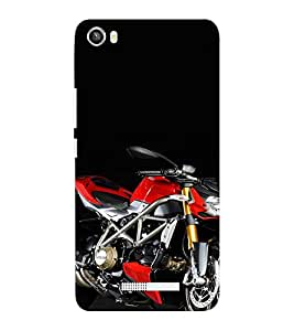 EPICCASE Sexy Red Bike Mobile Back Case Cover For Lava Iris X8 (Designer Case)