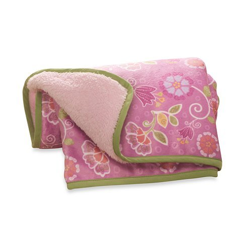 Kidsline Blossom Tails Crib Bedding Collection (Blanket) front-1052875
