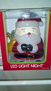 Santa Holiday Led light Night
