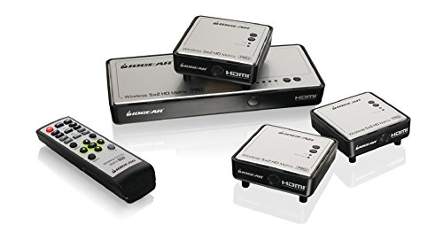 Iogear Long Range Wireless 5X2 Hdmi Matrix Pro With 2 Additional Receivers