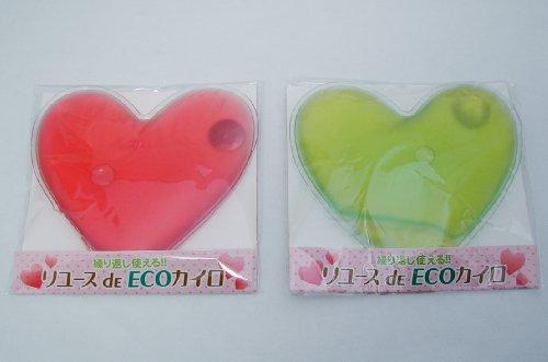 サカイトレーディング can be used again! Reuse de ECO Cairo heart-shaped pink 2 piece + green 4 piece set