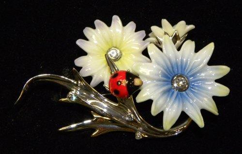 Enchanting Ladybug Pin