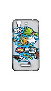 Designer Stylish Mobile Case/Cover For MICROMAX YUREKA