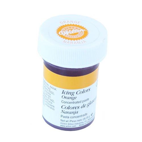 751499281462 cakes supplies colorant gel wilton orange 28g - Gel Colorant Wilton