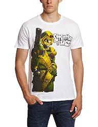 Plastic Head 2000AD Strontium Dog Gun Men's T-Shirt from Plastic Head