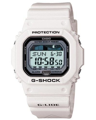 Casio G-Lide Multifunction Digital White Resin Mens Watch GLX5600-7