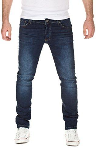 YAZUBI - Jeans Edvin Slim Fit, slim fit, uomo, blue denim (204), W29/L34