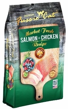Fussie Cat Market Fresh - Salmon & Chicken