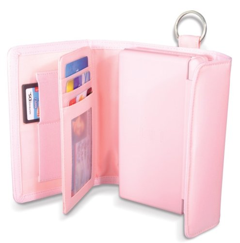 Competition Pro Pink Lite Folio Case & Wallet (Nintendo DS)