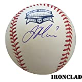 Joe Mauer Autographed Metrodome Final Season Baseball w/