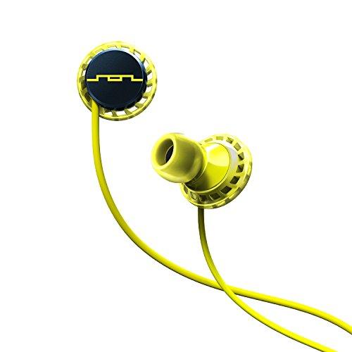 SOL REPUBLIC RELAYS SPORT- Single Button In-Ear Headphones Lemon Lime (1152-40)