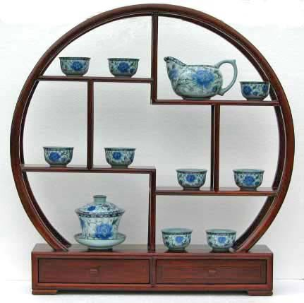 Round Shape Display Rack with Drawers A03 (Display Case For Tea compare prices)