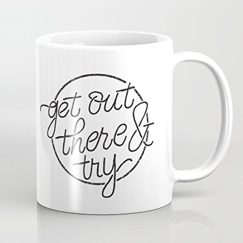 quadngaagd-get-out-there-try-logo-taza-de-cafe-taza-de-te-blanco