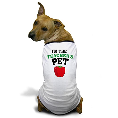 CafePress - Teacher's Pet Dog T-Shirt - Dog T-Shirt, Pet Clothing, Funny Dog Costume