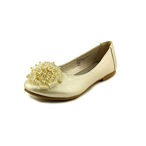 6. Flats with Crystal Bead Bow Best Cheap Kids Shoes