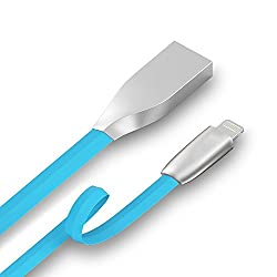Glasgow Certified Zinc Alloy Lighting to USB Sync & Charge Cable for Apple iPhone iPad and iPod Devices