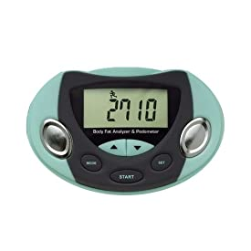 Body Fat Analyzer Logic Fat Loss Monitor Pedometer