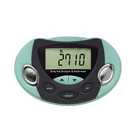 Body Fat Analyzer Logic Fat Loss Monitor Pedometer