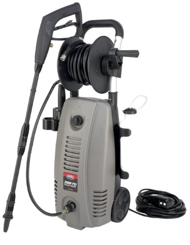 All Power America APW5006 2,000 PSI 1.6 GPM Electric Pressure Washer With Hose Reel (All Power America Pressure Washer compare prices)
