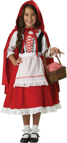InCharacter Costumes, LLC Little Girls' Little Red Riding Hood Dress Set