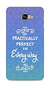 AMEZ practically perfect in every way Back Cover For Samsung Galaxy A9