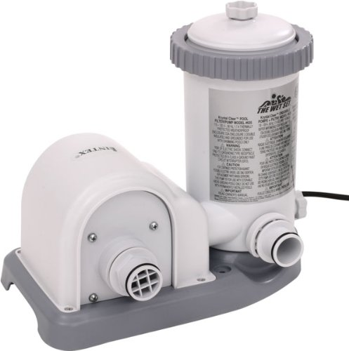 1500 gal hr intex filter pump krystal clear model 635 for Intex pool handler