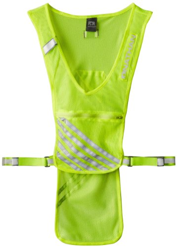 Nathan Cyclo-Tier Reflective Vest, Safety Yellow, One Size