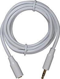 6 Foot 3.5mm Headphone Extension Cord (AH735R)