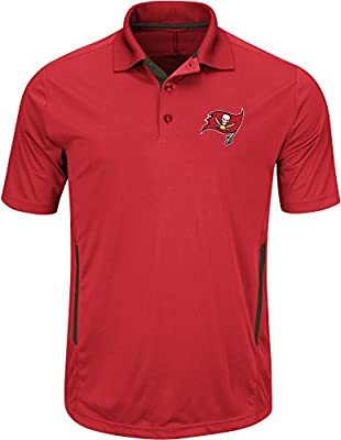 "Tampa Bay Buccaneers Majestic ""Field Classic 2"" Men's Short Sleeve Polo Shirt"
