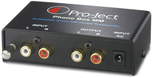 Great Deal! Pro-Ject Audio - Phono Box MM - MM Phono Pre-amplifier - Black