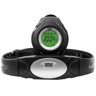 Pyle Sports PHRM38 Heart Rate Monitor Watch with 3D Walking/Running Sensor
