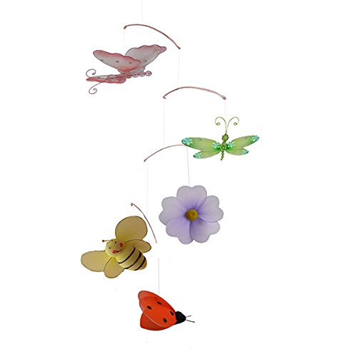 The Butterfly Grove Butterfly/Ladybug/Bee/Dragonfly Mobile Decoration - 1