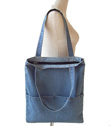 New Korea Fashion Large Women Rock Denim Shoulder Bag