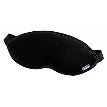 Lewis N. Clark Comfort Eye Mask, Black