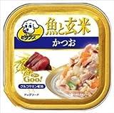 日本ペットフード ビタワングー 魚と玄米かつお 100g