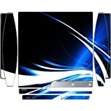 Cool Water Swirl Artwork Design Print Image Playstation 3 & Ps3 Slim Vinyl Decal Sticker Skin By Trendy Accessories
