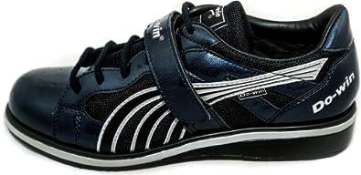 Do-Win weight training shoes 'Gong Lu II' (Power), UK 5.5, Navy / Silver
