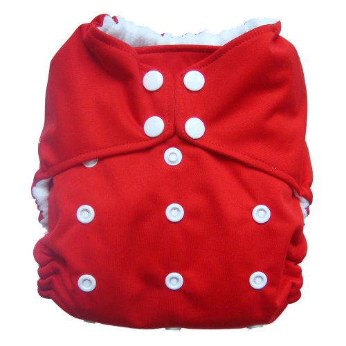 Reusable All-In-One Aio Baby Cloth Diaper One Size Fit 7-33 Lbs (8847)