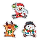 【クリスマス景品】クリスマスエコカイロ(12個)  / お楽しみグッズ(紙風船)付きセット [おもちゃ&ホビー]