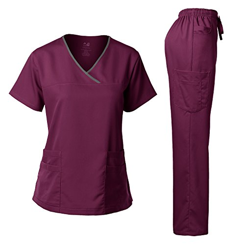 Medical Scrubs Top and Pant Sets