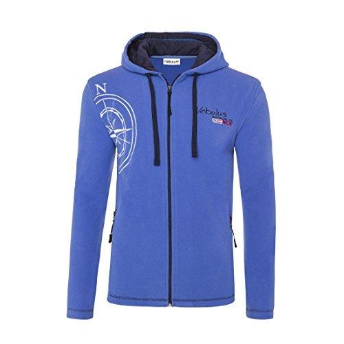 Nebulus -  Giacca sportiva - Con cappuccio  - Uomo Azul Royal X-Large