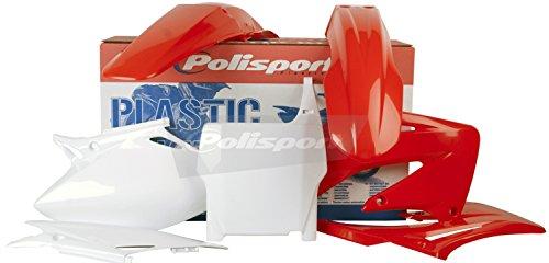 Polisport Plastics Kit Red for Honda CRF450R CRF 450R 04 (Honda Crf 450r Parts compare prices)