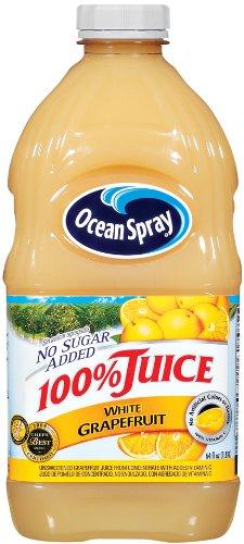 Ocean Spray White Grapefruit Juice, 64-Ounce Bottles (Pack of 8)