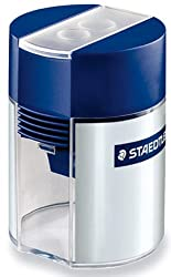 Staedtler Tub Pencil Sharpeners - Pack of 2