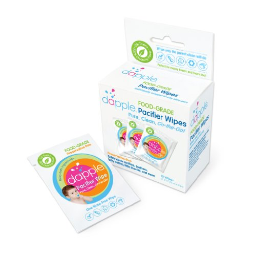 Dapple Preservative-Free Food-Grade Pacifier Wipes - 10 ct - 1